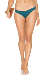 Eberjey So Solid Annia Bikini Bottom Green