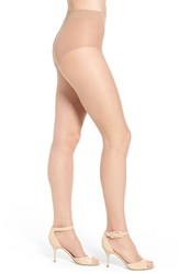 Women's Donna Karan 'The Nudes' Control Top Toeless Hosiery A03