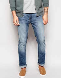 French Connection Bleached Out Jeans In Slim Fit Lightblue