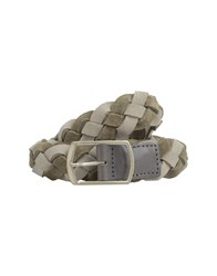 Mauro Grifoni Small Leather Goods Belts Men Khaki