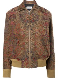 Saint Laurent Marrakech Teddy Jacket Brown