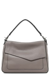 Botkier Cobble Hill Slouch Calfskin Leather Hobo Grey Winter Grey