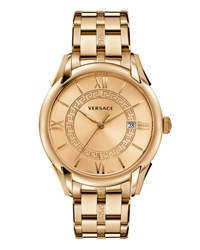 Versace Apollo Bracelet Watch Rose Golden
