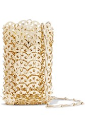 Paco Rabanne Mini 1969 Chainmail Shoulder Bag Gold