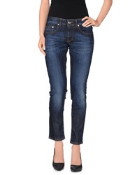 Gianfranco Ferre Gf Ferre' Denim Denim Trousers Women Blue