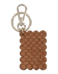 Coccinelle Key Rings Brown