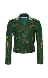 Vivetta Embroidered Floral Vedova Nera Jacket Green
