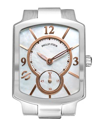 Philip Stein Teslar Philip Stein Small Classic Mother Of Pearl And Rose Gold Watch Head