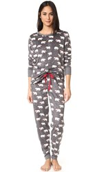 Pj Salvage Polar Bear Set Charcoal