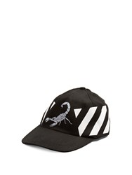Off White Othelo Scorpion Print Cap Black Multi