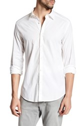 Diesel Long Sleeve Button Up Shirt White