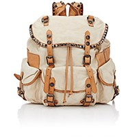 Campomaggi Women's Studded Backpack Tan