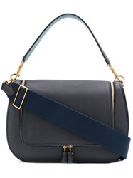 Anya Hindmarch Maxi Vere Satchel Leather Blue