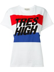 Etre Cecile 'Tres High' T Shirt White