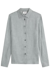 Maison Martin Margiela Maison Margiela Tailored Blouse Grey