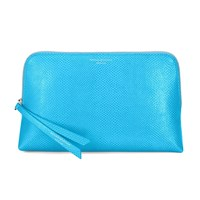 Aspinal Of London Essential Cosmetic Case Medium Aquamarine