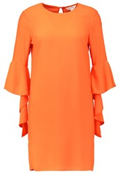 Miss Selfridge Cocktail Dress Party Dress Red Orange