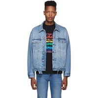 Vetements Blue New Classic Denim Jacket