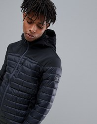 Protest Update Puffer Jacket In Black