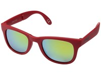 Vans Foldable Spicoli Shades Racing Red Sport Sunglasses