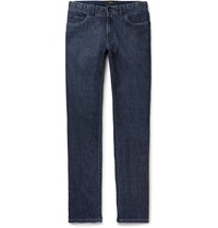 Brioni Meribel Slim Fit Stretch Denim Jeans Blue