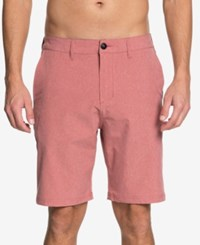 Quiksilver Navigate Amphibian Hybrid Shorts Mineral Red