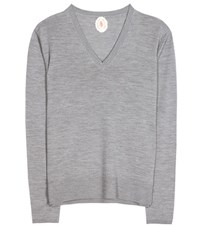 Jardin Des Orangers Virgin Wool Sweater Grey