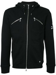 Loveless Zip Pocket Hoodie Men Cotton 3 Black