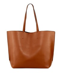 French Connection James Simple Smooth Tote Bag Brown