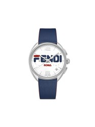 Fendi Mania Momento Watch Blue