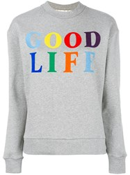 Etre Cecile Good Life Sweatshirt Grey