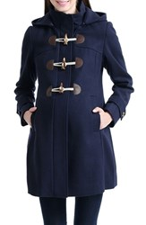 Kimi And Kai Women's 'Paisley' Maternity Duffle Coat Navy