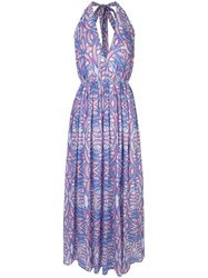 Paolita Sentwali Maxi Dress Blue