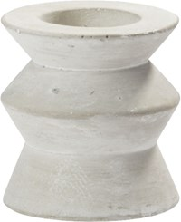 Cb2 Avenue Cement Tea Light Candle Holder