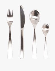 Stelton Maya 2000 Flatware Set X 4 Black