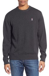 Men's Psycho Bunny Pima Cotton Crewneck Sweater