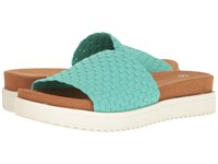 Bernie Mev Capri Mint Women's Sandals Green