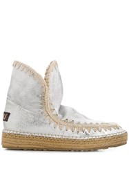 Mou Eskimo 18 Ankle Boots Silver