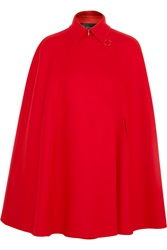 Versace Wool Felt Cape