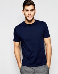 Reiss Crew Neck T Shirt Navy