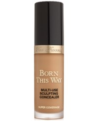 Too Faced Born This Way Super Coverage Multi Use Sculpting Concealer Mocha Rich Tan With Rosy Undertones