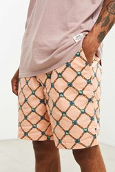 Urban Outfitters Uo Max Printed Short Peach