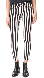 Rag And Bone Capri Jeans Benton Stripe