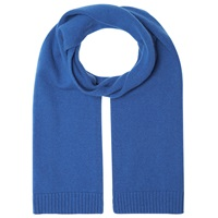 John Lewis Made In Italy Cashmere Scarf Blue