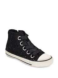 Ash Venus Lace High Top Sneakers Black