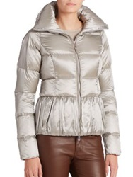 Ralph Lauren Black Label Madison Down Jacket Grey