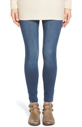 Yummie Tummie Denim Leggings Washed Indigo