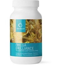 Bodyism Omega Brilliance Supplement 60 Capsules Blue