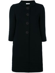 Charlott Single Breasted Coat Blue