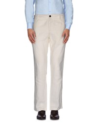 Gaudi' Trousers Casual Trousers Men White